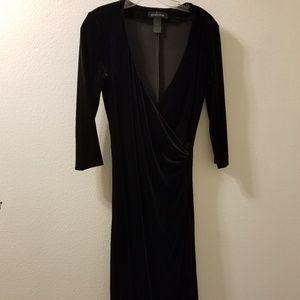 Moda International Evening dress faux wrap